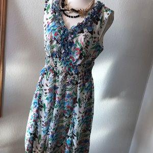 Like new lightweight shear lined dress